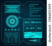 the infographics picture is... | Shutterstock . vector #1086851909