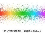 abstract   colorful pixels | Shutterstock .eps vector #1086856673