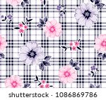 Daisies  Pattern With Small...