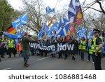 glasgow  scotland   may 5 2018  ...   Shutterstock . vector #1086881468
