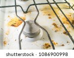 old dirty stove | Shutterstock . vector #1086900998