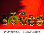souvenirs for tourists in... | Shutterstock . vector #1086908096