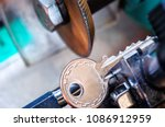 locksmith  key duplication... | Shutterstock . vector #1086912959