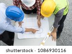 group of civil engineer or... | Shutterstock . vector #1086930116