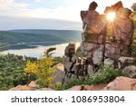 areal view on the south shore...   Shutterstock . vector #1086953804