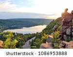 areal view on the south shore...   Shutterstock . vector #1086953888