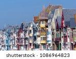 mers les bains seaside town in... | Shutterstock . vector #1086964823