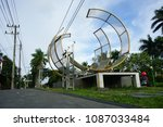 malang  indonesia   february 12 ... | Shutterstock . vector #1087033484