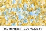 ethnic  tribal  square ... | Shutterstock . vector #1087033859