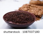 clove and tobacco on background | Shutterstock . vector #1087037180