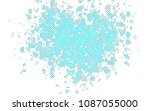 light blue  green vector layout ... | Shutterstock .eps vector #1087055000