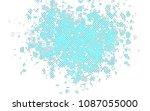light blue  green vector layout ... | Shutterstock .eps vector #1087055000
