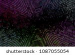 dark multicolor  rainbow vector ... | Shutterstock .eps vector #1087055054