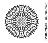 modern mandala vector | Shutterstock .eps vector #1087088960