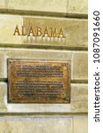 Small photo of Geneva, Switzerland - October 18, 2017: Alabama room, where Geneva Convention - the founding act of the International Committee of the Red Cross - was signed
