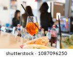 Small photo of Aperitivo bar girl youngsters