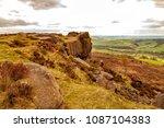 landscape photograph  of baslow ... | Shutterstock . vector #1087104383