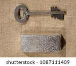 Cast Silver Bars And The Key T...