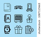 outline other icon set such as... | Shutterstock .eps vector #1087115663