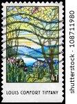 usa   circa 2007  a stamp...   Shutterstock . vector #108711980