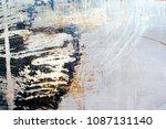 abstract grunge background | Shutterstock . vector #1087131140