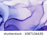 alcohol ink composition   Shutterstock . vector #1087136630
