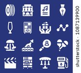 filled other icon set such as... | Shutterstock .eps vector #1087139900