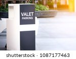 Valet parking point for...