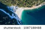aerial view of porto vathy... | Shutterstock . vector #1087188488