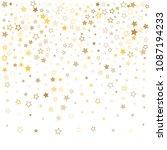 gold stars background frame... | Shutterstock .eps vector #1087194233