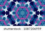 seamless geometrical pattern ... | Shutterstock .eps vector #1087206959