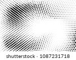 abstract futuristic halftone... | Shutterstock .eps vector #1087231718