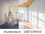 renovation concept   room... | Shutterstock . vector #1087239533