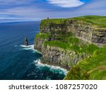 world famous cliffs of moher at ... | Shutterstock . vector #1087257020