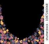 rhombus cosmic minimal... | Shutterstock .eps vector #1087260068
