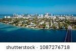 bal harbor bridge  bay harbor ... | Shutterstock . vector #1087276718