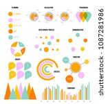 infographic template vector set ...