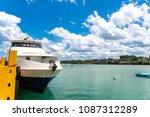 apr 23 2018 bohol island ...   Shutterstock . vector #1087312289