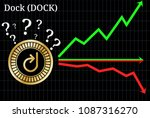 possible graphs of forecast... | Shutterstock .eps vector #1087316270