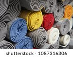 carpets variety selection... | Shutterstock . vector #1087316306