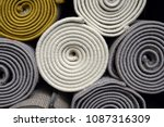 carpets variety selection... | Shutterstock . vector #1087316309