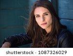 dramatic serious headshot... | Shutterstock . vector #1087326029