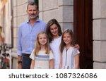 soller  mallorca   spain  ... | Shutterstock . vector #1087326086
