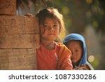 vieng xai district  hua phan... | Shutterstock . vector #1087330286