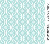 abstract seamless circular link ...   Shutterstock .eps vector #1087337090