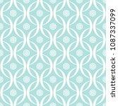 abstract seamless circular link ... | Shutterstock .eps vector #1087337099