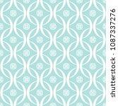 abstract seamless circular link ... | Shutterstock .eps vector #1087337276