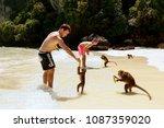 krabi  thailand   november 30 ... | Shutterstock . vector #1087359020
