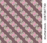 autumn colored seamless pattern ...