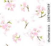 seamless pattern  background...   Shutterstock .eps vector #1087403459